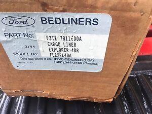 NEW NOS 1991 - 1994 FORD EXPLORER REAR VINYL CARGO MAT ASBY F3TZ-7811600-A RARE
