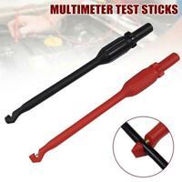 Automotive Test Lead Kit Probe Clip Hook 4mm Puncture Wire Multimeter Test_HOT
