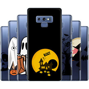 Dessana Halloween Pattern TPU Silicone Protection Case Phone for Samsung Galaxy