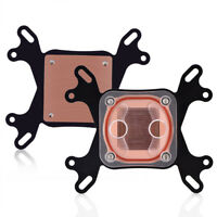 CPU GPU Water Cooling Block Waterblock PC Cooler Copper Base For Intel AMD BT