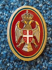 REPUBLIC of SRPSKA ARMY, VOJSKA REPUBLIKE SRPSKE, NCO's CAP BADGE !