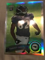 2011 Topps Chrome Silver Refractor Torrey Smith Ravens RC Rookie