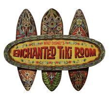 NEW Disney World ENCHANTED TIKI ROOM Disneyland Replica Prop Sign Wall Plaque
