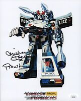 MICHAEL BELL Signed PROWL Transformers 8x10 Photo In Person Autograph JSA COA
