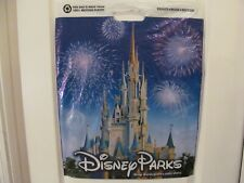 Disney Parks Shopping Bag Plastic Featuring Disney Worlds Cinderella'S Castle