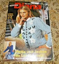 Die kleine Diana von 1997 Trachten  Landhausstil stricken Strickheft
