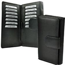 AMARI XXL Geldbörse RFID-Schutz 32 Fächer Portemonnaie Geldtasche Damen Herren