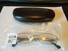 Michael Kors MK 338 045 Eyeglasses Frames Glasses Silver / Black 50-16-135 NEW