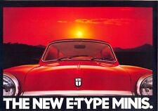 Mini - E-Type Minis HLE City E UK market sales brochure