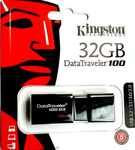 Kingston 32GB USB 3.0 / 2.0 Memory Stick Pen Drive For HP Laptop15-ab Series