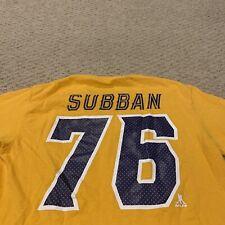 PK Subban Nashville Predators NHL Hockey T Shirt Tee Mens Small