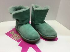 Girl's Mint Suede Ugg Australia #5991Y Winter Boots Size 1