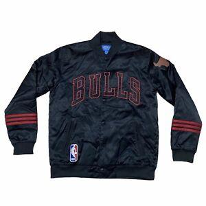 Adidas Chicago Bulls Bomber Jacket Men's Size M