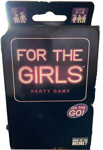 For The Girls Card Game Sealed NIB Ice Breaker Adult Party WhatDoYouMeme