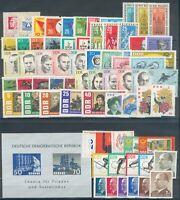 DDR, Jahrgang 1963**, Michel Euro 60,00, pracht
