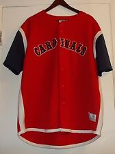 St. Louis Cardinals JERSEY MLB Adult XL X-large Official Licensed Full-button