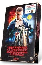 STRANGER THINGS Season 1 Blu Ray DVD 4 disc set VHS Packaging Collector Edition