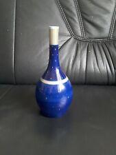 Ausgefallene Kpm Berlin Vase In Blau, Mit Gold Dekor