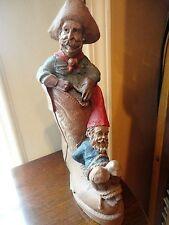 Tom Clark Figurine Gabby & Hoppy 1989 #42 Gnome Cairn Hog Tied #5084 Vintage