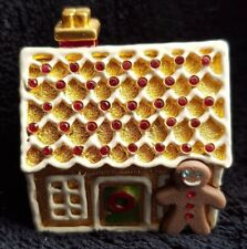 ESTEE LAUDER PLEASURES GINGERBREAD HOUSE COMPACT FOR SOLID PERFUME - NEW