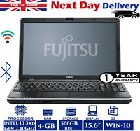 Fujitsu LifeBook A512 15.6-inch Laptop Intel i3 3rd-Gen 2.4Ghz 4GB RAM 500GB HDD