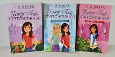 Set of 3 paperback books Fairy-Tale Matchmaker books by E.D. Baker