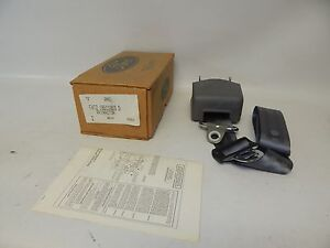 New OEM 1994 1995 Ford Seatbelt Seat Belt Retractor Rear Left Hand Side Buckle