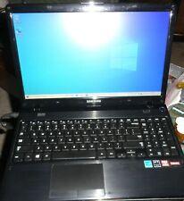 """Samsung NP365E5C-S01US 15.6"""" Laptop AMD A8-4500M 1.90GHz 4GB 500GB Webcam Win 10"""