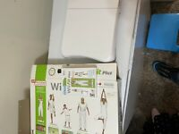 Wii Fit Plus with Balance Board Bundle Nintendo Wii Game Open Box  With Game