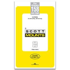 Scott/Prinz Pre-Cut Strips 265mm Long Stamp Mounts 265x158 #959 Clear