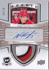 15-16 The Cup Noah Hanifin /10 Auto Patch Rookie Crosby Tribute Hurricanes 2015