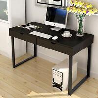 Laptop PC Computer Desk Desktop Table Workstation & Drawers 2 Color Home Office