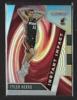 2019-20 Prizm Tyler Herro Instant Impact Silver Rookie Card HOT MVP HEAT