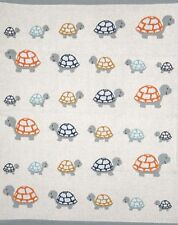 Tully Turtle Baby Cot Pram Blanket Wrap Indus Design Baby Shower Newborn Gift
