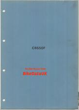 Honda CB 550 F F0 F1 SOHC cuatro (1975 - >) suplemento de fábrica manual artículo adicional AW23