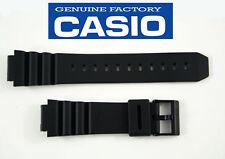 Casio Original Watch Band Black Rubber Strap AQ-120 AQ-130 ARW-320