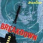"""JUNIOR communication breakdown/fame MER 134 uk mercury 1983 7"""" PS EX/VG+"""