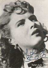 DELIA SCALA (Attrice) - Autografo originale su cartolina d'epoca-178