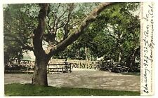 C. 1900s 1907 Old Rustic Bridge Berkeley California University Of CA Postcard