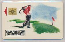 Télécarte Privée D138 neuve golf  ref TP73
