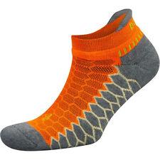 Balega серебро No show бег носки-неоновый оранжевый/серый вереск