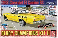 AMT Retro Derby's Champions Kit, 1968 El Camino SS, Soap Box Car 1/25 1018 ST