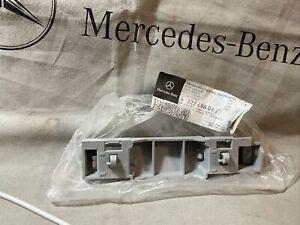 1-MERCEDES-BENZ OEM 14-17 S550 Exterior-Rocker Molding Mount Left 2226980127