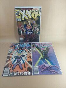 Uncanny X-Men Marvel Comic (1981 series) #250, 251, 252 8.5 (VF+) or Better...