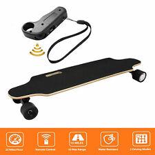 Elektro Skateboard 20km/h E-board, Elektrisches Longboard mit Funkfernbedienung,
