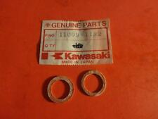 NOS KAWASAKI ZX750 ZX1100 KZ1100 RELIEF VALVE FITTING GASKET QTY2 11009-1182
