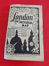 London Pictorial Map. On Cloth