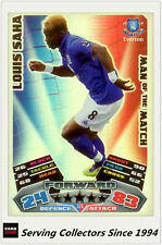 2011-12 Topps Match Attax Card Man Of Match Foil 378 Louis Saha
