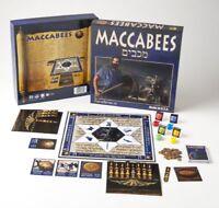 Maccabees Hanukka Dreidels Jewish Interest Educational Board Game