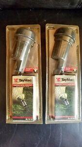 2 TayMac SL101B Portable Metal Outdoor Weatherproof Spike Garden Yard Lights NEW